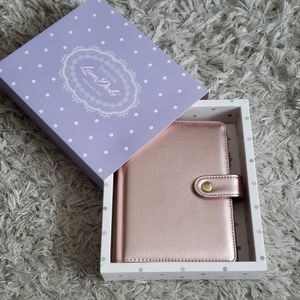 LoveDoki Office - DOKIBOOK Rosegold Ringbound Planner Cover